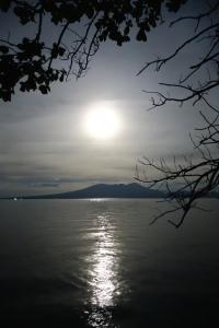 Moonrise over Kolombangara