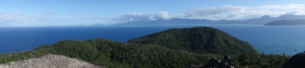 View from the summit of Fitzroy Island near Cairns, Queensland
