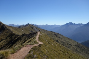 Beautiful walking on the Kepler Track (a Great Walk)